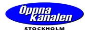 oppna kanalen stockholm