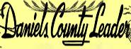 Daniels County Leader