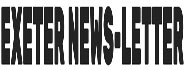 Exeter News Letter