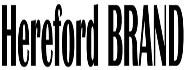 Hereford Brand