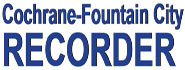 Cochrane Fountain City Recorder