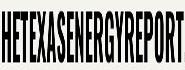 Texas Energy Report