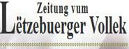 Zeitung vum Letzebuerger Vollek